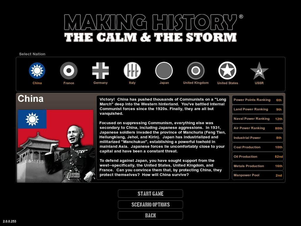making history the calm the storm pc review gamewatcher. Black Bedroom Furniture Sets. Home Design Ideas
