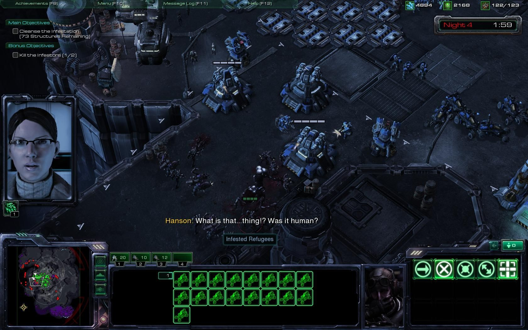 Image result for starcraft 2 mission dialogue