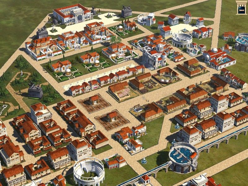 City Building Games Like Caesar