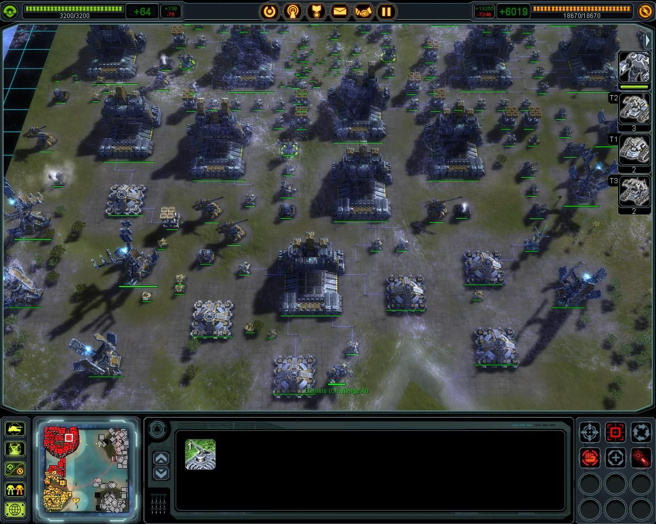 Supreme Commander PC Review | GameWatcher
