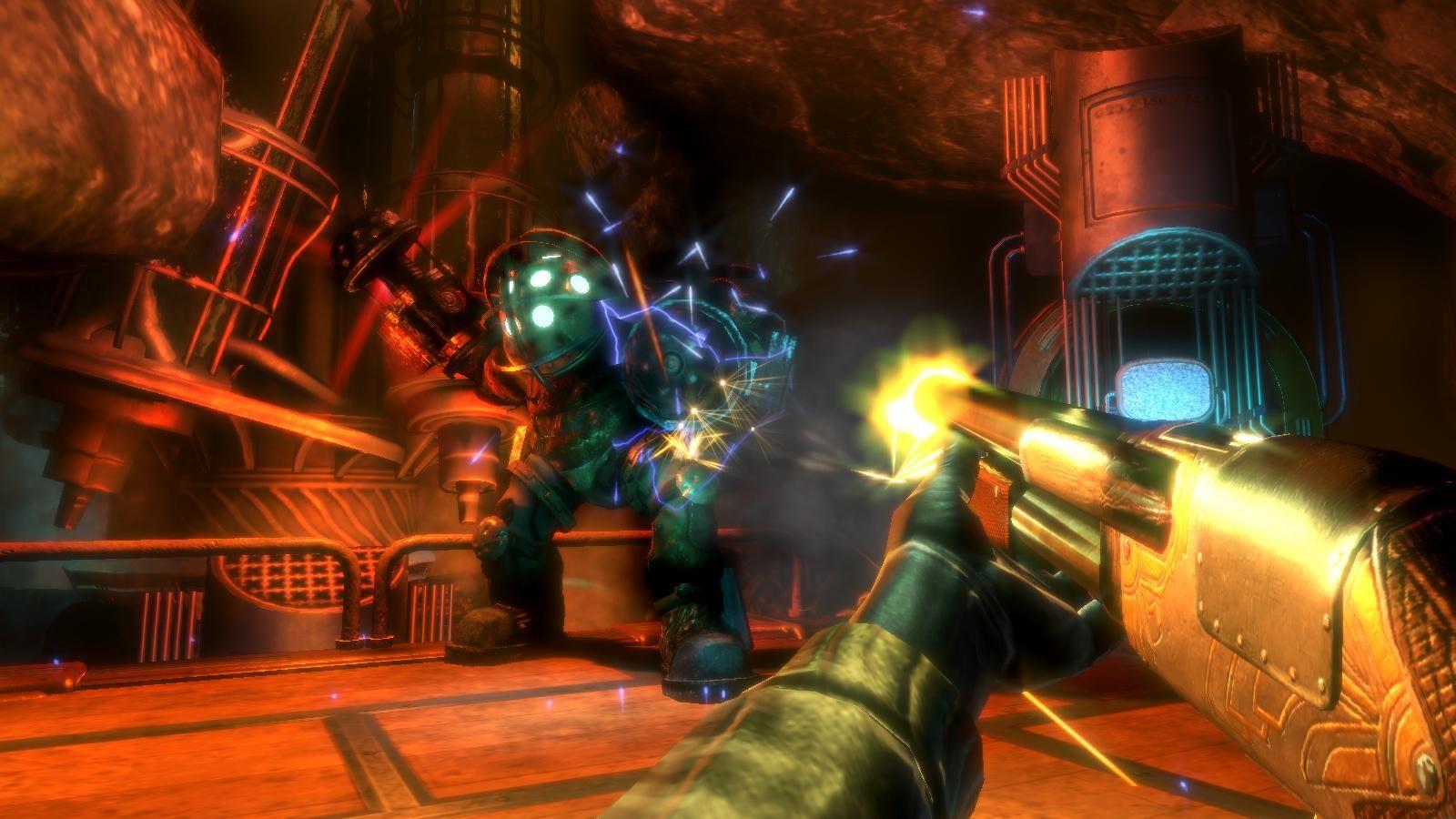 Bioshock pc review gamewatcher - Bioshock wikia ...