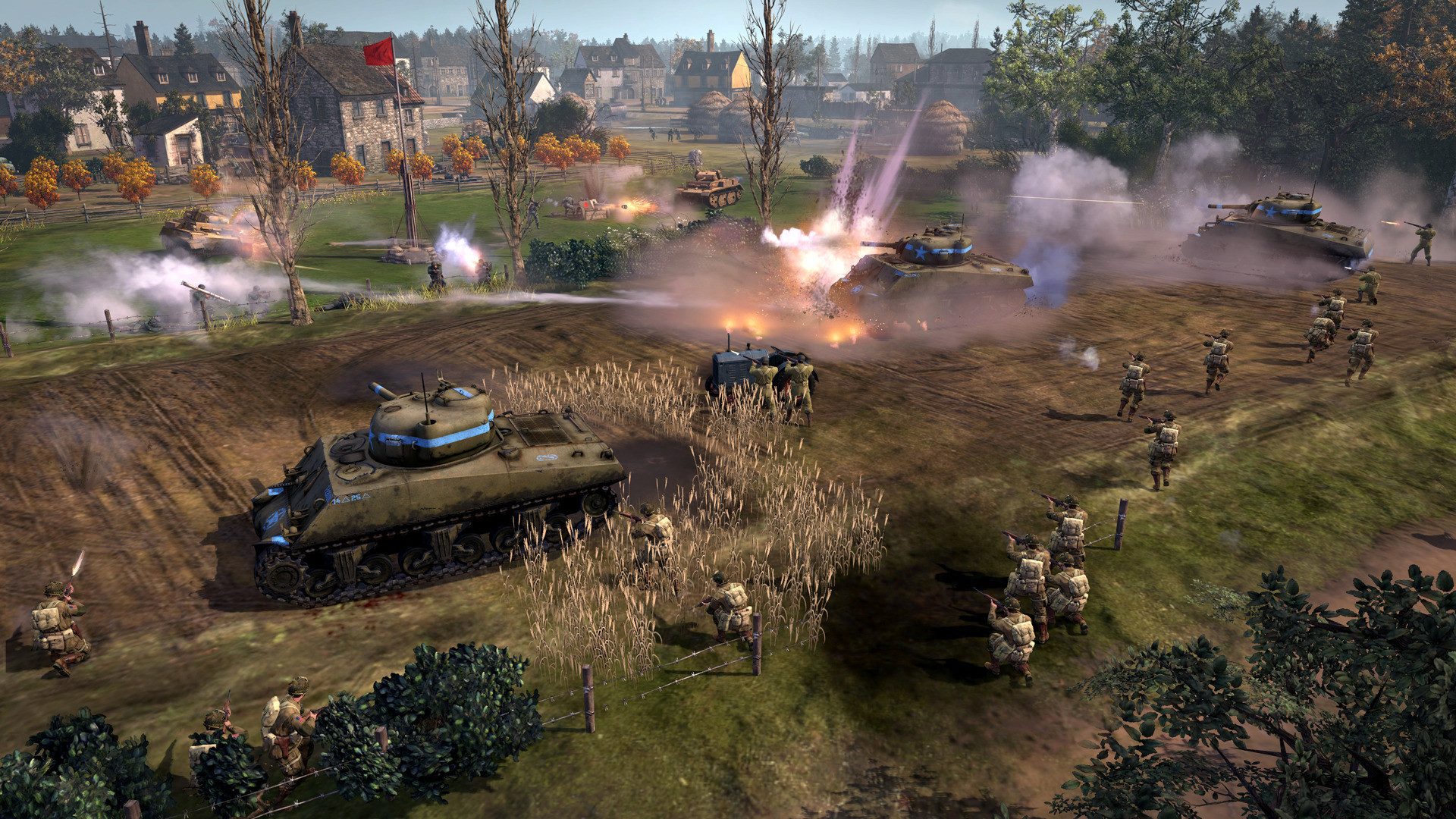 Company Of Heroes 2 The Western Front Armies Pc Review Gamewatcher