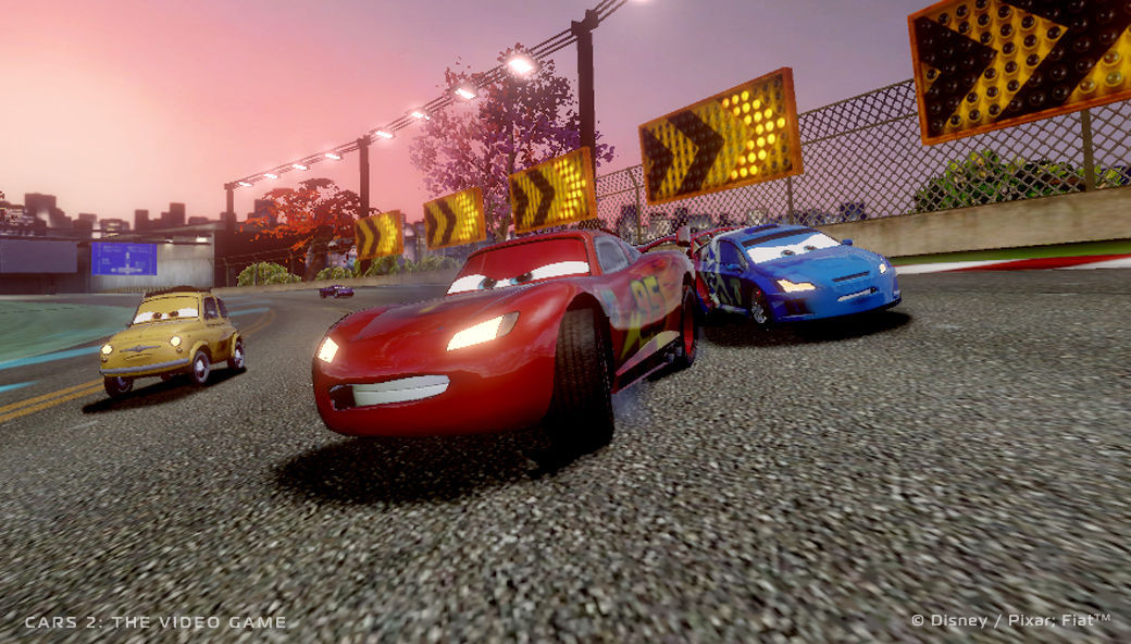 Cars 2: The Video Game PC Review   GameWatcher
