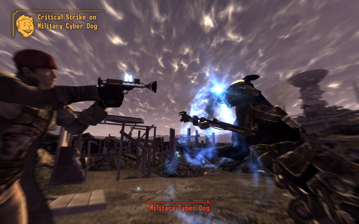 Fallout new vegas old world blues pc review gamewatcher yes im using a phaser to shoot robotic dogs in the face i love this game voltagebd Choice Image