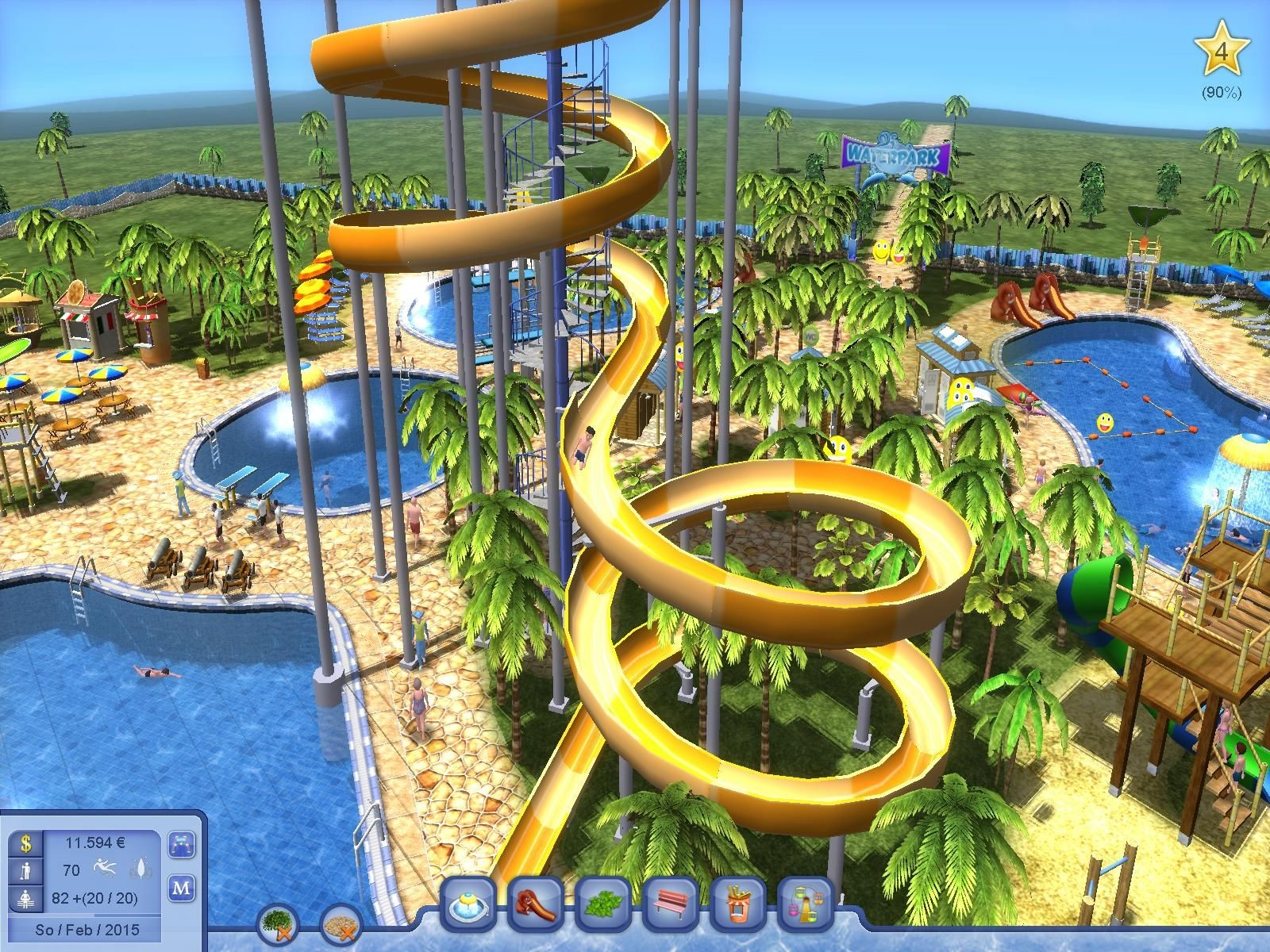 free roller coaster tycoon games