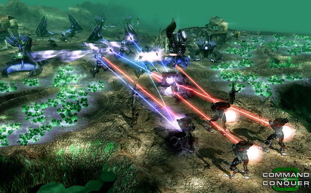 Command & Conquer 3: Tiberium Wars PC Review   GameWatcher