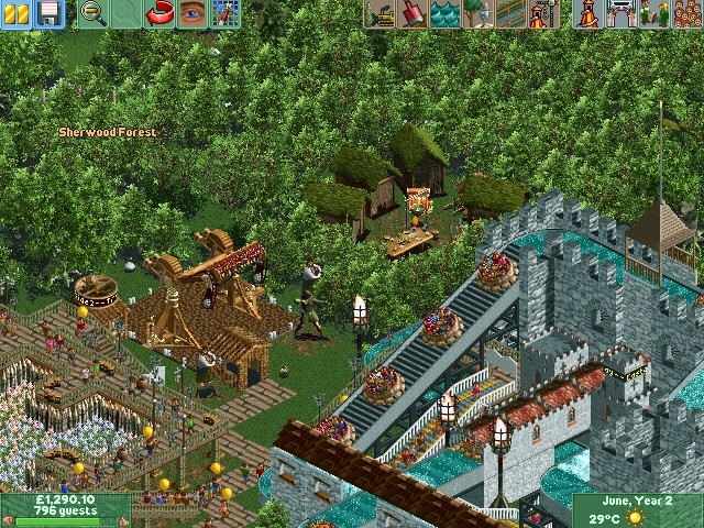 RollerCoaster Tycoon 2: Time Twister PC Review   GameWatcher