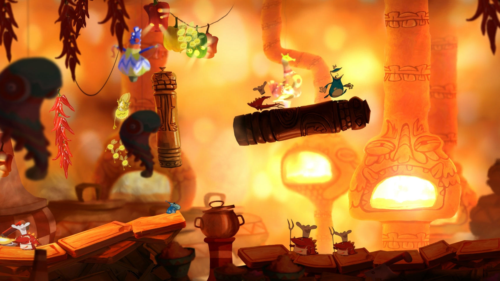 Rayman Origins Hell Kitchen