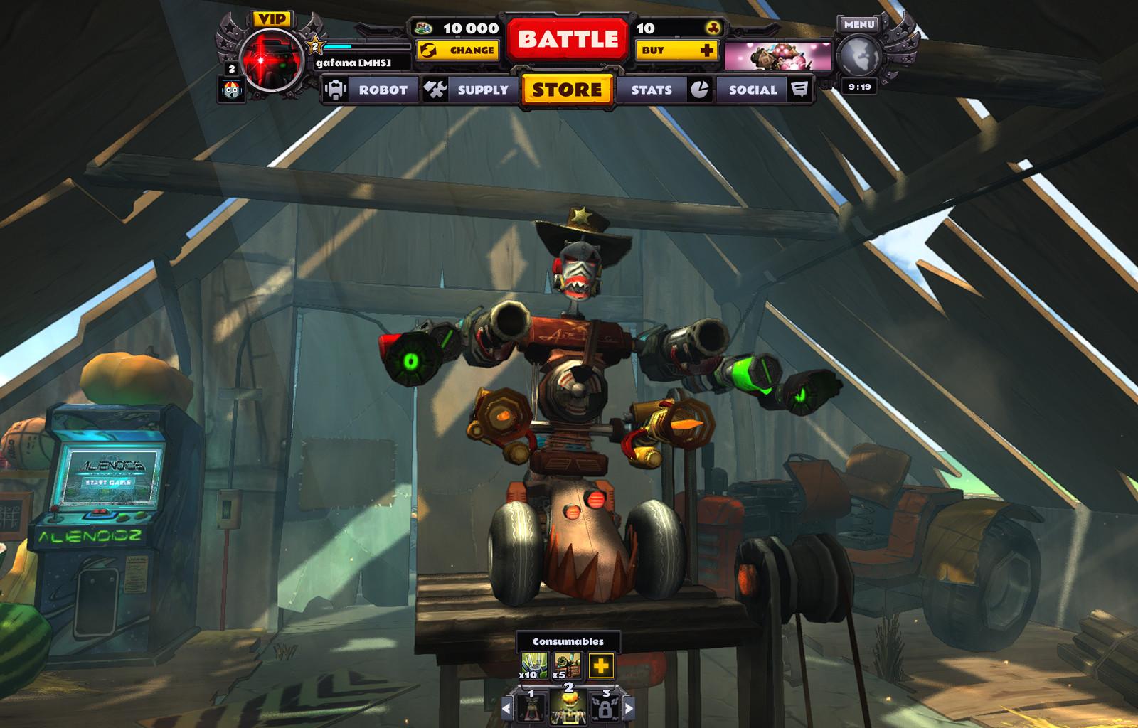 Guns and Robots PC Review | GameWatcher