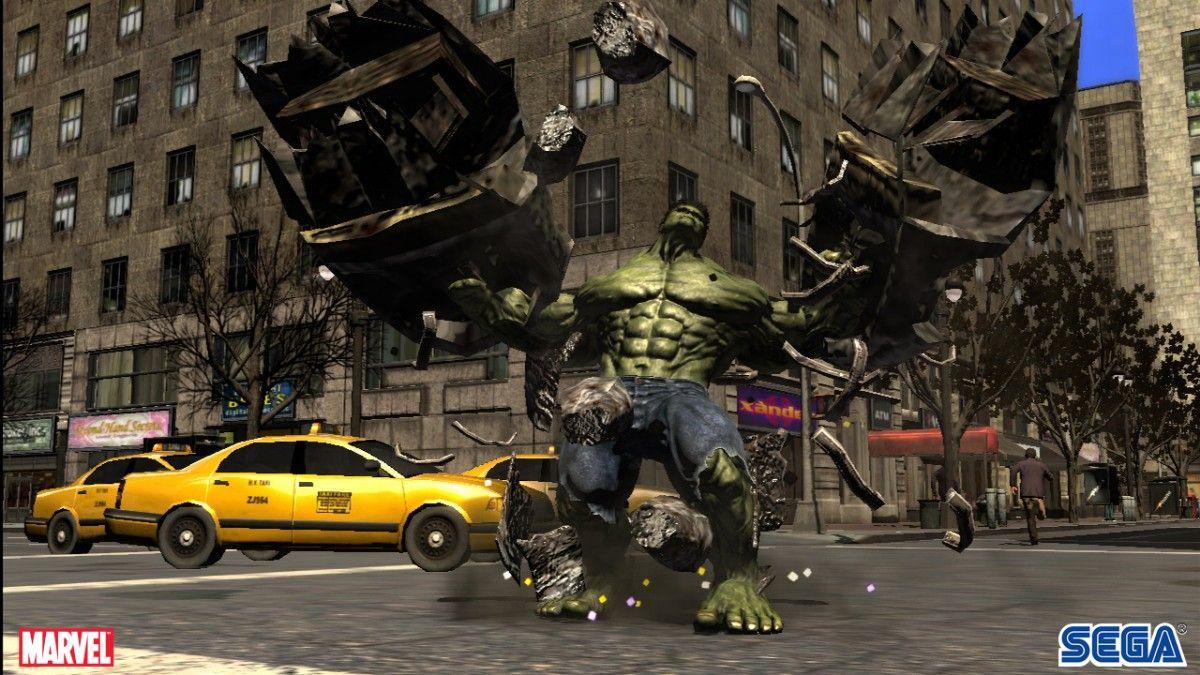Hulk Game Last Mission
